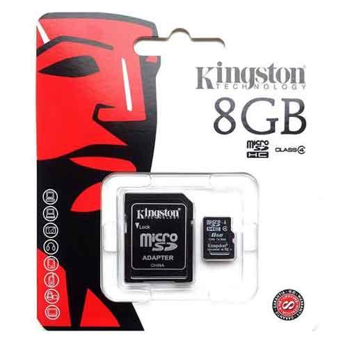 Kingston 8gb micro sd kaart-aanbieding