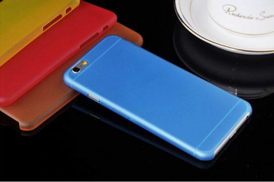 iPhone 6 blauw case