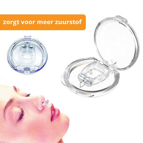 Hedendaags Anti snurk clip aanbieding €6,95 incl. GRATIS verzending! HI-33