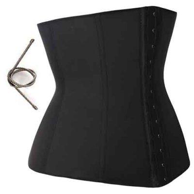 Goedkope-Latex-waist-trainer-zwart