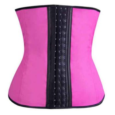 Latex-Waist-trainer-roze-aanbieding