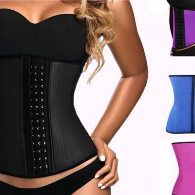 Latex waist trainer 4 kleuren aanbieding