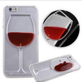 iPhone wijn case aanbieding