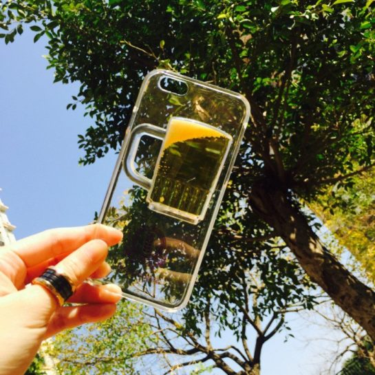 iPhone bier case aanbieding