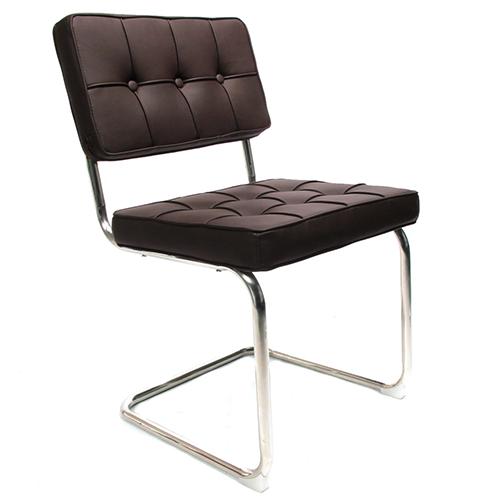 Bauhaus stoel donkerbruin webshop for Bauhaus stoelen aanbieding