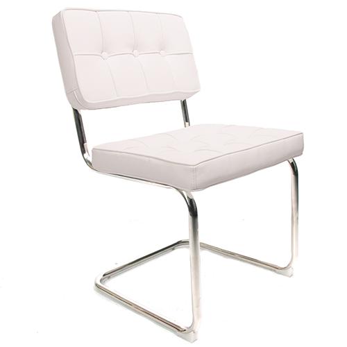 Bauhaus stoelen voor 74 95 incl verzending for Witte eetkamerstoelen met armleuning