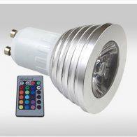 RGB led lamp gu10