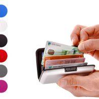 Aluminium wallets aanbieding
