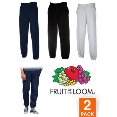 Fruit of the Loom 2x joggingbroeken aanbieding