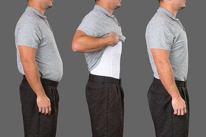 Figuur corrigerend shirt mannen aanbieding