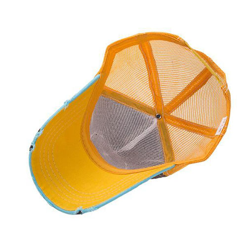Binnenkant baseball cap