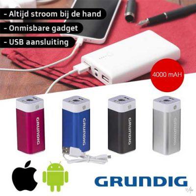 Grundig-Powerbank-aanbieding