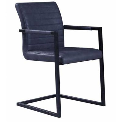 Kubis-stoel-zwart