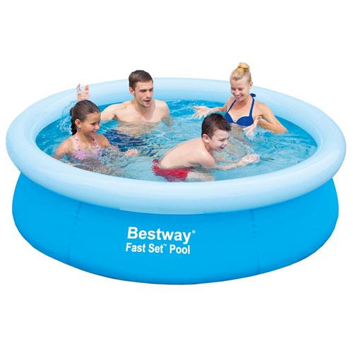 zwembad bestway bestway fast set zwembad 198x51cm webshop