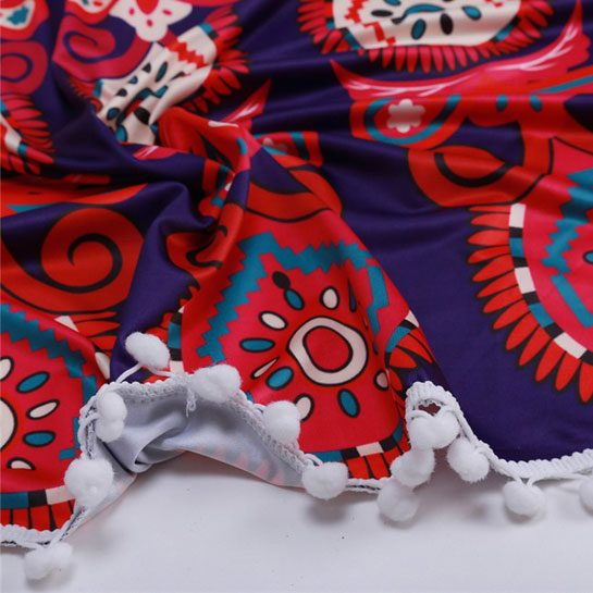 Stranddoek-aanbieding