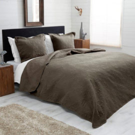 bedsprei-taupe-chique