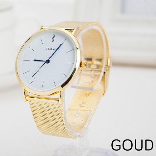 Dames-horloge-goud