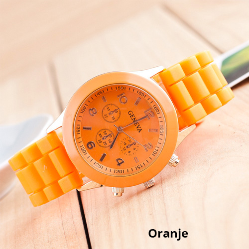 dameshorloge-oranje