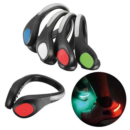 2x schoenclips met LED verlichting voor hardlopen met hoge KORTING