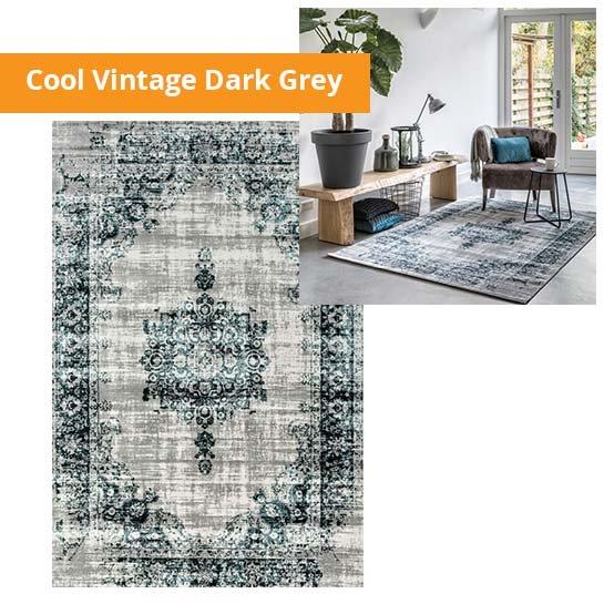 Cool Vintage Dark Grey