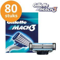 Gillette-scheermesjes-mach3-80stuks