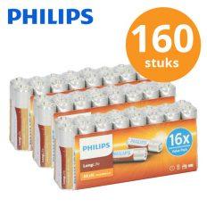 Philips-batterijen-160stuks