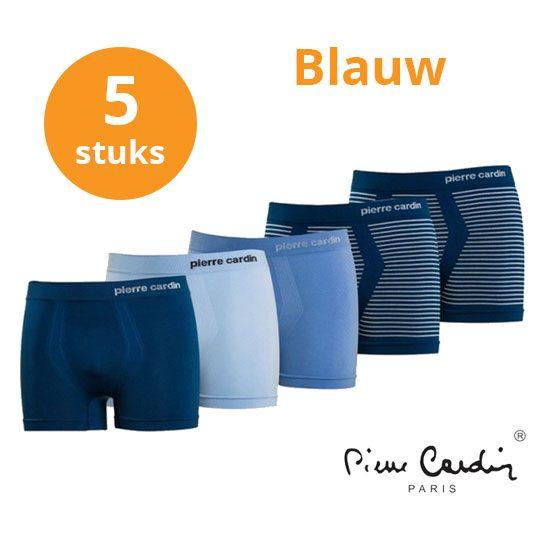 Pierre-Cardin-blauw-boxers