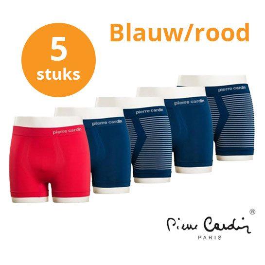 Pierre-Cardin-blauw-rood-boxers