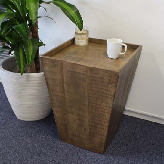 Bijzettafel Timber Mango-hout