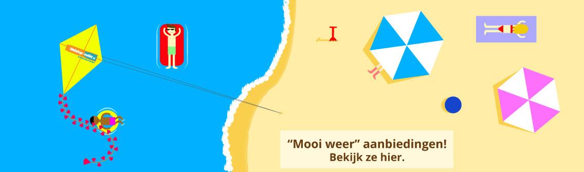 Mooi-weer-banner