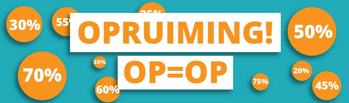 0fb0da6c896 Opruiming bij Webshop-outlet alles mag weg tegen de scherpste prijzen!
