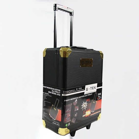 Wonderlijk G-Tek 256-Delige Gereedschapstrolley Gold Limited Edition XXL AS-47