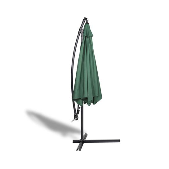 Hangende Parasol Groen Vrijstaand 3