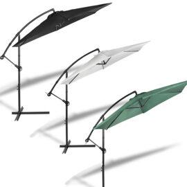 Hangende Parasol Zwart Hoofd