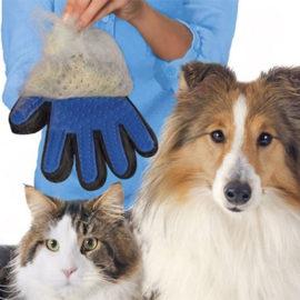 Verzorginghandschoen-huisdier