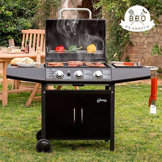 Super Vaggan 3 pits barbecue gas buitenkeuken - Webshop-outlet.nl WP-71