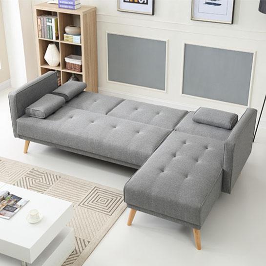 Design Bank Aanbieding.Bobochic Multifunctionele Hoekbank Helly
