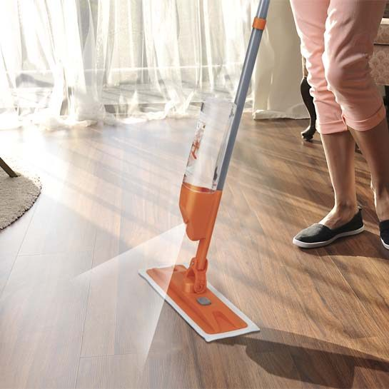 Turbo-vibration-spray-mop