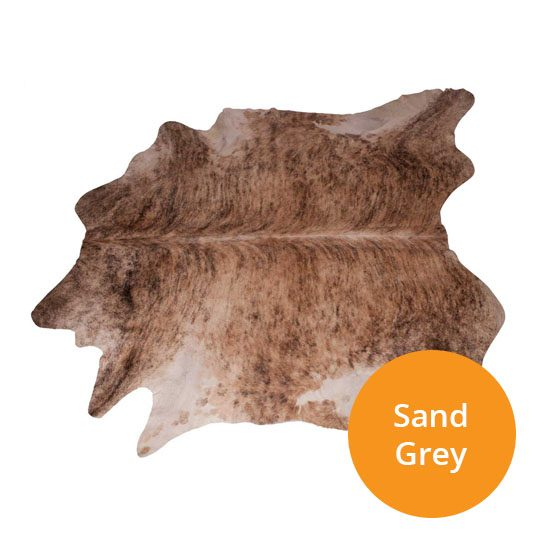 Koeienhuiden-Sand-Grey