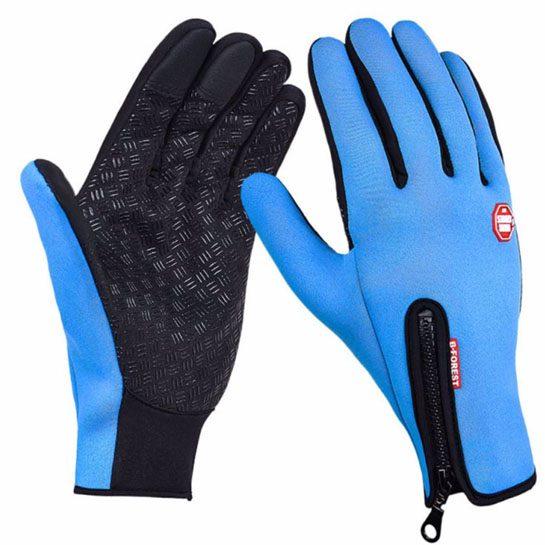 winterhandschoenen blauw