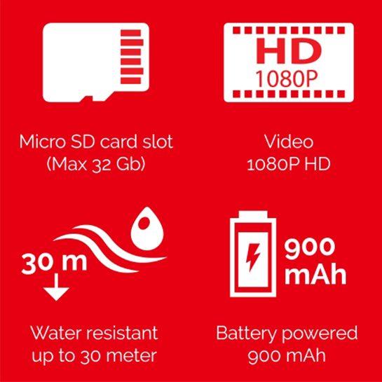 Action Camera Specificaties