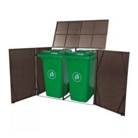Containerberging-dubbel-bruin