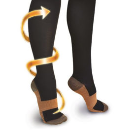 Compressie-sokken-copper