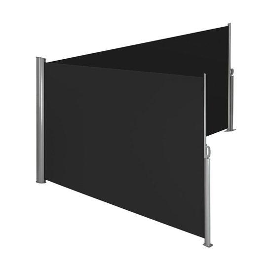 Hoek-windscherm-dubbel