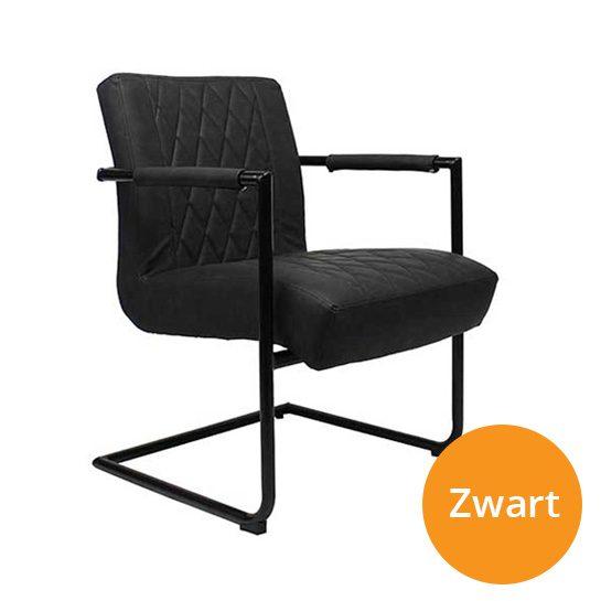 Kensington-stoelen-zwart