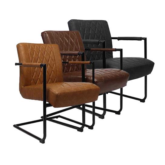 Kensington stoelen in 3 kleuren webshop for Outlet stoelen