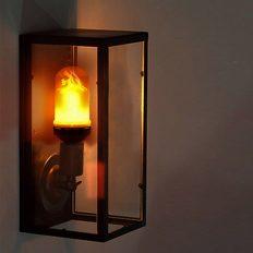 Led-lamp-met-vuursimulatie