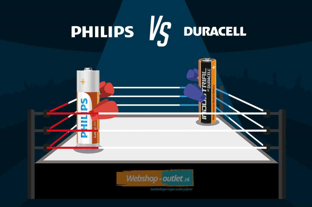 Philips vs duracell