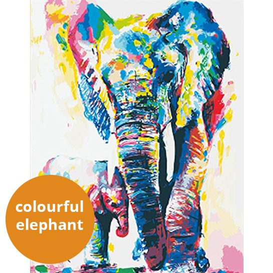 Colourful-elephant