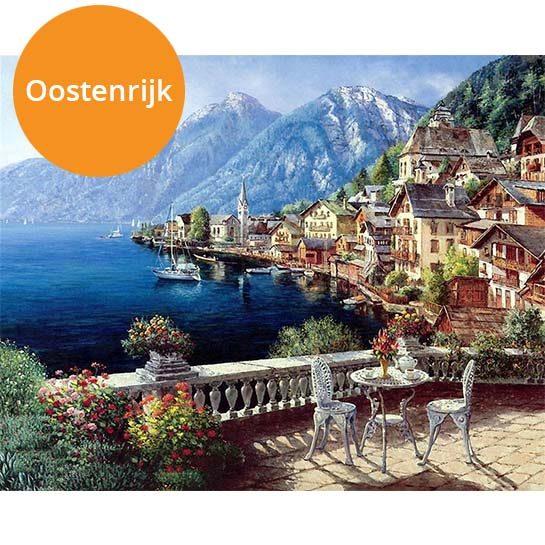 Oostenrijk-paint-by-numbers